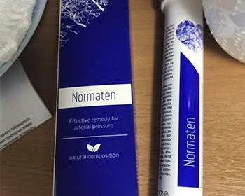 Упаковка Норматена от давления