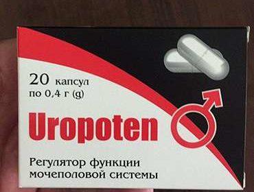 Внешний вид препарата Уропотен от недержания мочи