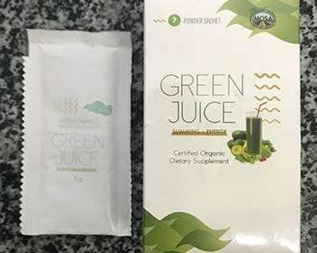 Внешний вид упаковки Green Juice